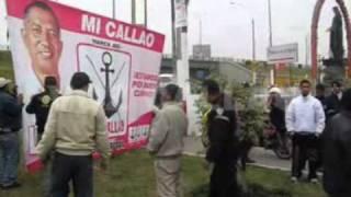 Enfrentamientos por paneles en La Perla