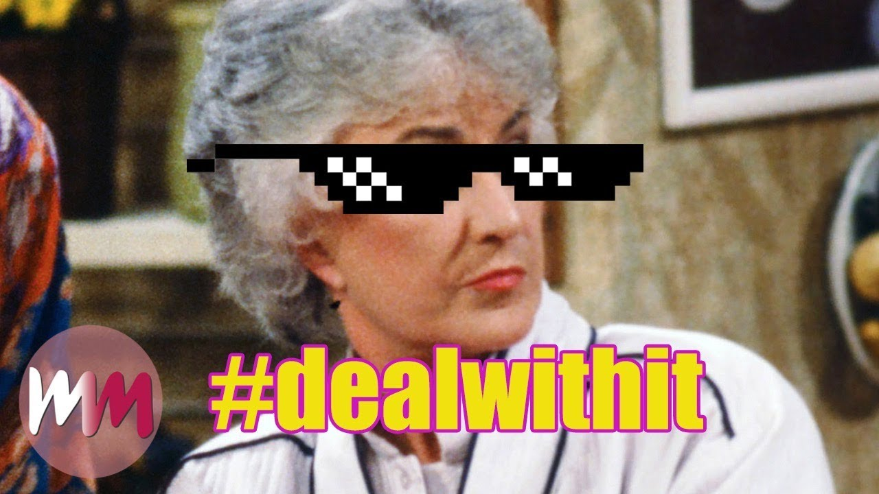 Top 10 Most Savage Golden Girls Moments Youtube