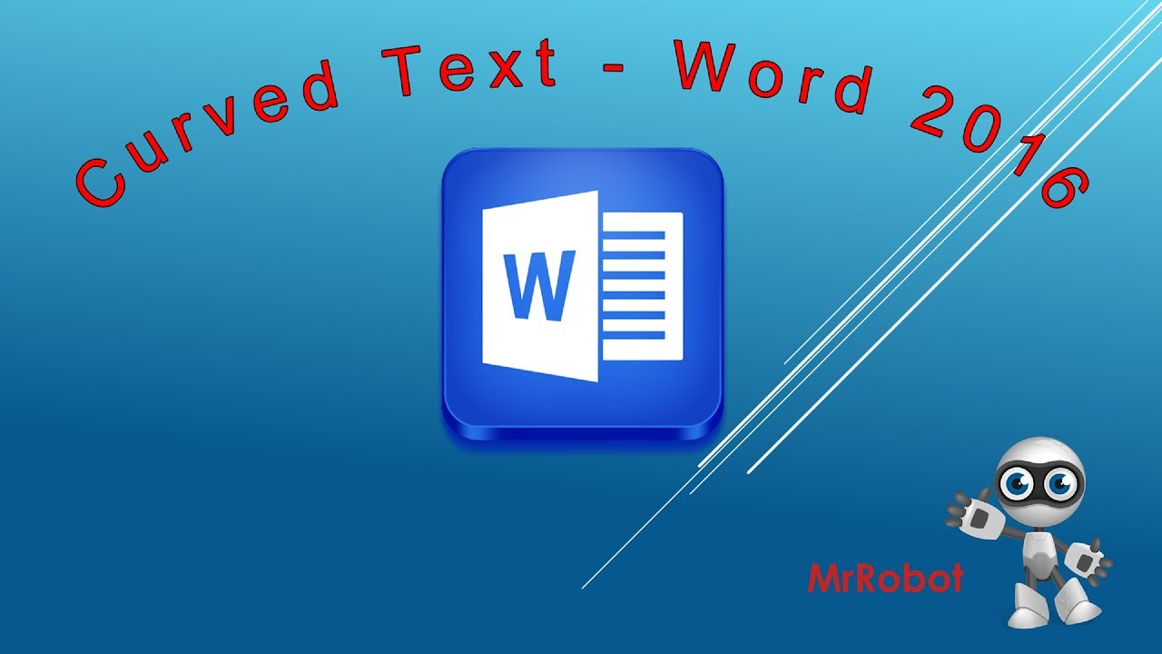 How to Write Curved Text - Wrap Text Around a Circle or Shape in MS Word  9