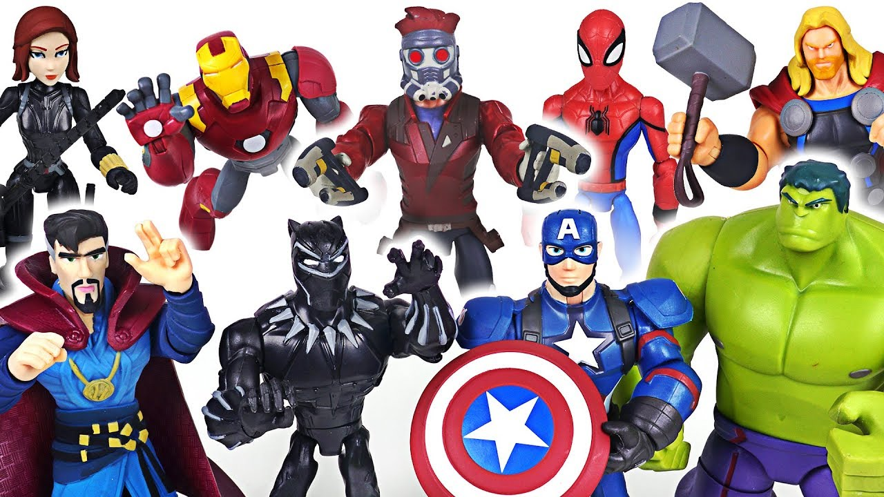 The strongest Thanos in universe appeared! Marvel Avengers Hulk, Spider Man, Thor! Go! - DuDuPopTOY