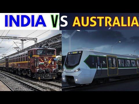 Indian Railways Vs Australian Railways | 2019 - 2020