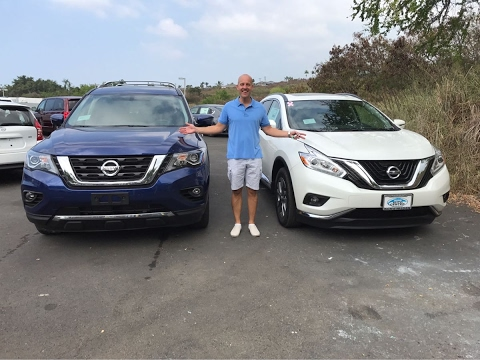 Review 2017 Nissan Murano Vs Pathfinder 2 Great Choices 1 Winner