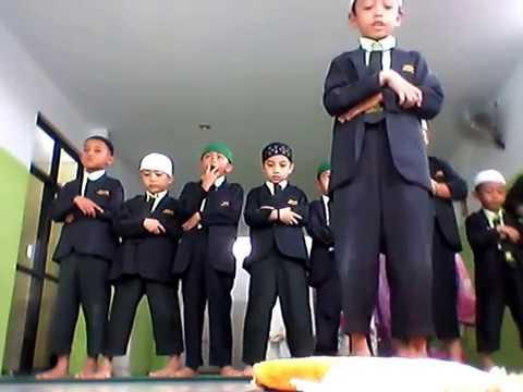 praying dhuha the school