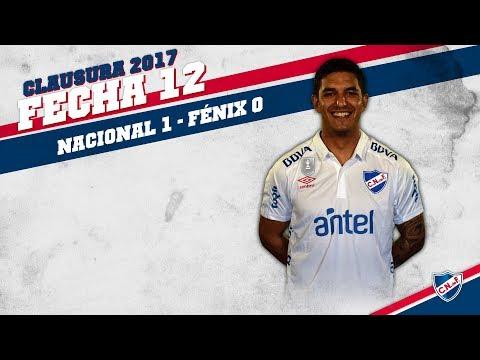 Clausura 2017 Fecha 12 / Nacional 1 - Fénix 0