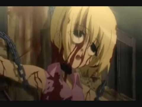 Anime Elfen Lied X Higurashi saddest and creepiest deaths