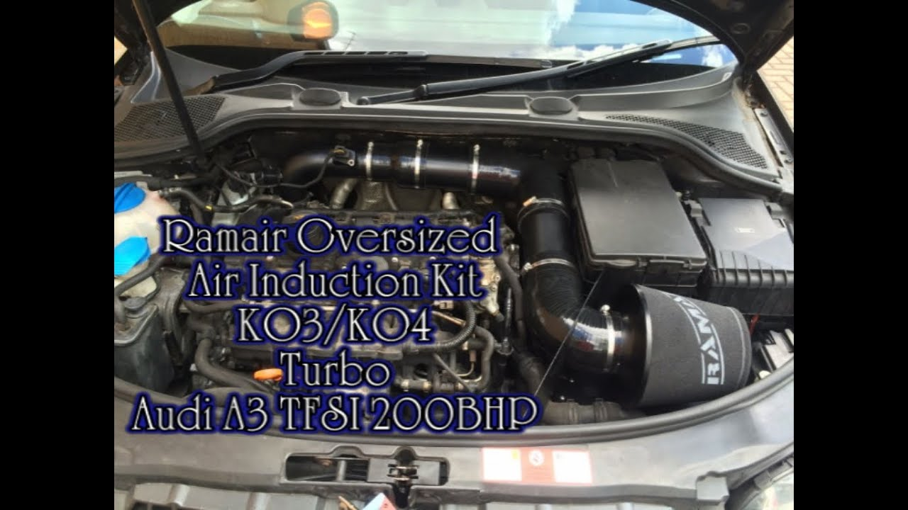 Ramair Air Induction Kit Audi A3 2 0 Tfsi Installation