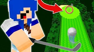 ESSA TACADA É IMPOSSIVEL!! (GOLF MINECRAFT)
