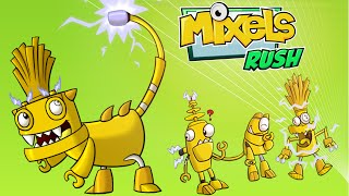 Mixels Rush: Lixer Land lixer Max All Levels - Cartoon Network Games