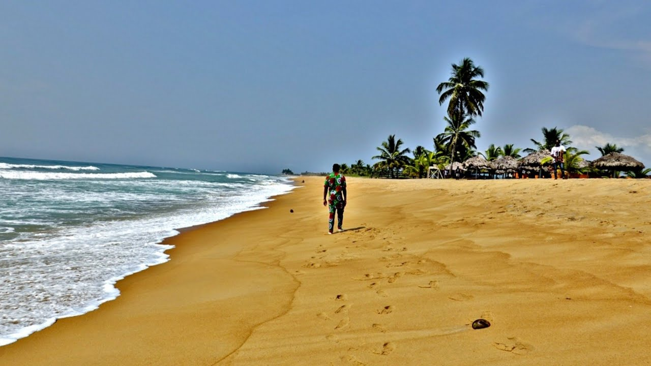The Beautiful Beaches Of Liberia, West Africa