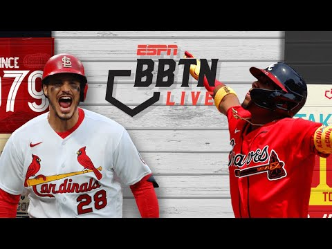 Testing MLB's banned Spider Tack substance on exotic items  Cardinals vs. Braves  BBTN Live