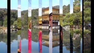 Япония. Город  Киото. Золотой павильон (Кинкакудзи) - один из храмов в комплексе Рокуон-дзи(Золотой павильон (Кинкакудзи), один из основных буддийских храмов в Киото, буквально покрыт золотом - два..., 2015-12-14T09:03:24.000Z)