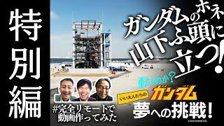 2014年に立ち上がった、ガンダムを動かすプロジェクト「ガンダムGLOBAL CHALLENGE」のメイキング番組。 18mの実物大(設定上)のガンダムをどう「動...