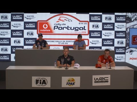 WRC - Vodafone Rally de Portugal 2018: Pre-Event Press Conference