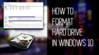 HOW TO: Format Hard Drive in WINDOWS 10! Quick and Easy