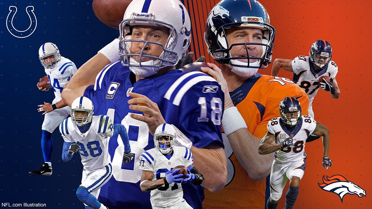 Every Player to Catch a Peyton Manning TD Pass   NFL ...