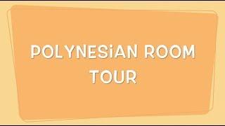 Walt Disney World Honeymoon Day One   Polynesian Room Tour
