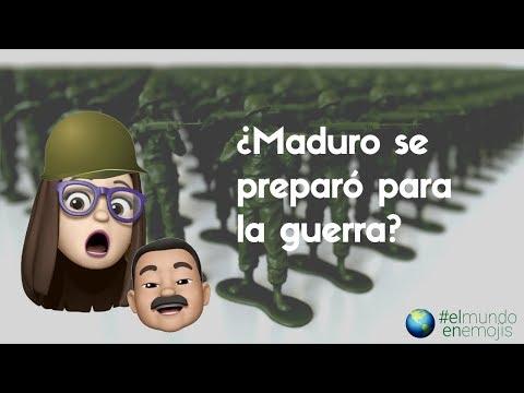 ¿Se preparó Maduro para la guerra? | El mundo en emojis | El Espectador