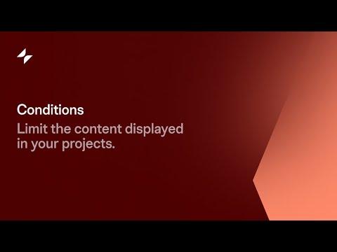 Conditions | Glide Tutorial