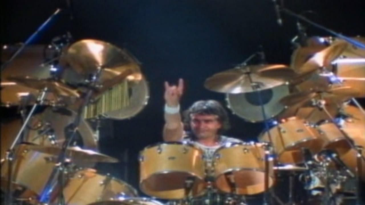 Vinny Appice Drum Solo Dio Live At The Spectrum 1984