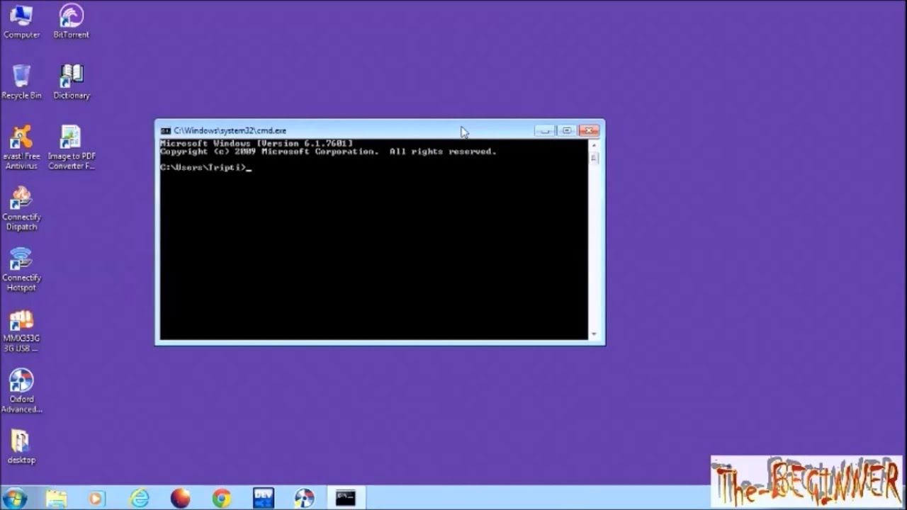 Find service tag or serial number of your computer using command prompt