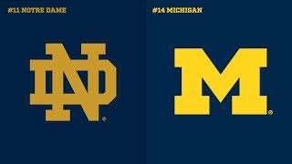 Michigan vs Notre Dame (Full Game Highlights)