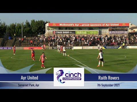 Ayr Utd Raith Goals And Highlights
