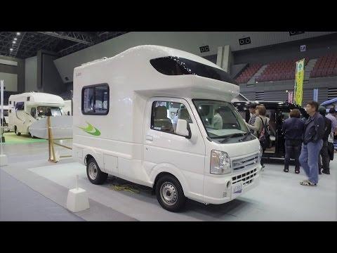 4명이 잘 수 있는 초소형 캠핑카- La Kunn - Japan Camping Car Show 2