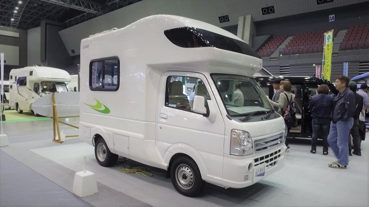 Amazing Micro Camper Motorhome That Sleeps 4 Japan
