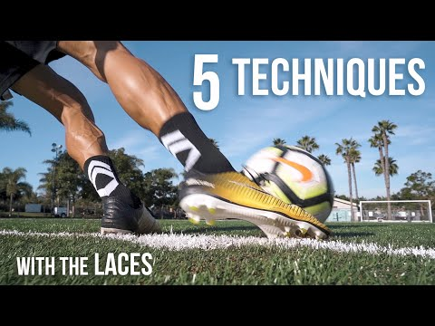 How To Kick A Soccer Ball With The Laces