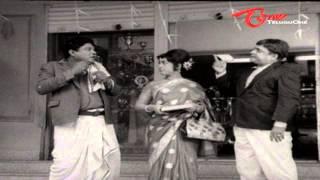Padmanabham Flirting Hot Beauty - Telugu Comedy Scene