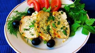 How to Make Chicken Breast Stuffed With Cottage Cheese - Simply Healthy Baked Chicken Fillet Recipes