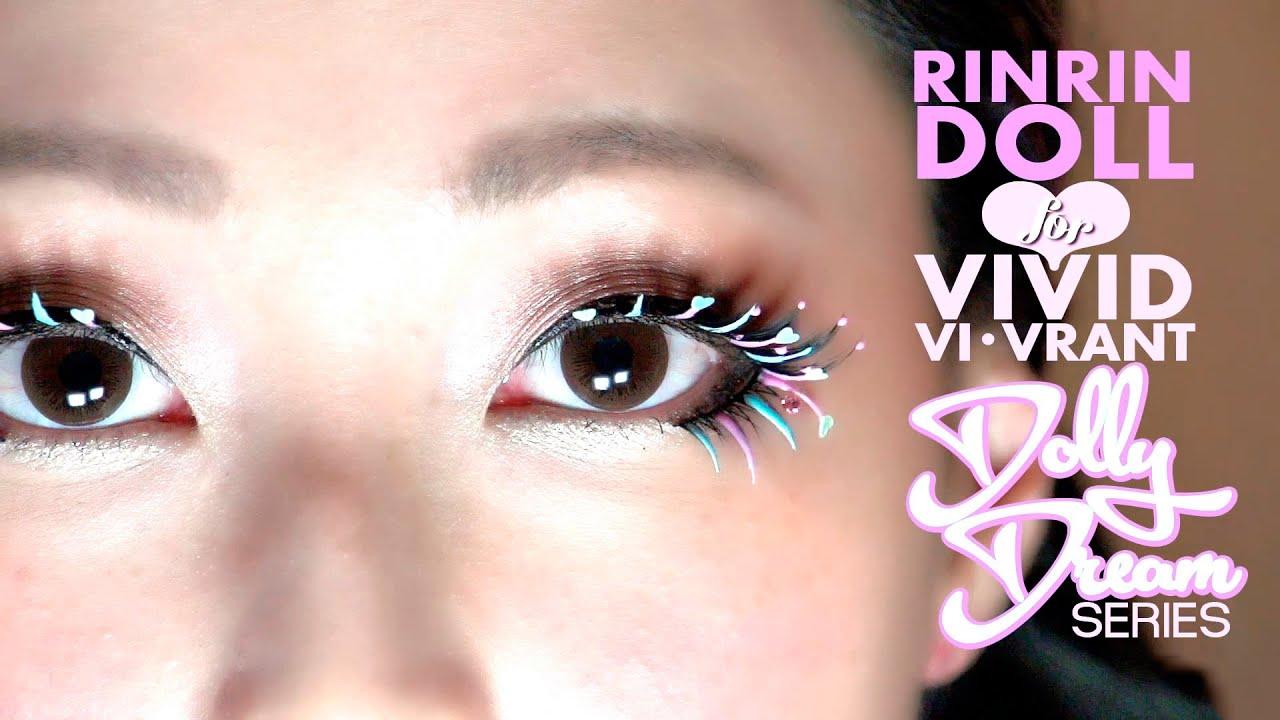 Rinrin Doll For Vivid Vi Vrant Dolly Dream Eyelashes Youtube