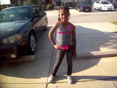 Young Diva Key Key dancing to Hands Up Get Low - Kstylis