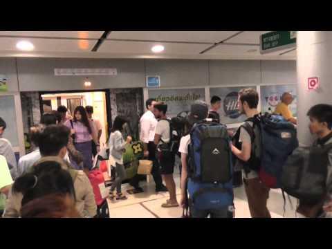 Suvarnabhumi Airport Rail Link To The Heart of Bangkok.