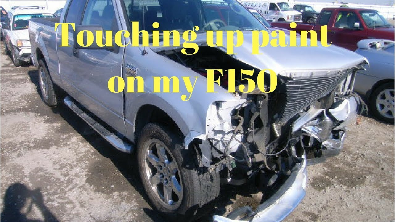 How To Touch Up Paint On F150