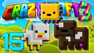 Minecraft Crazy Craft 3.0: COLLECTING ALL INVENTORY PETS  #15 (Modded Roleplay)