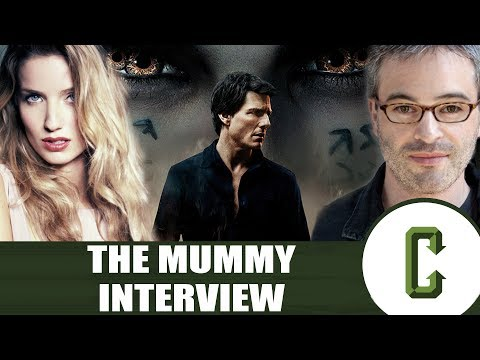The Mummy Star And Director, Annabelle Wallis And Alex Kurtzman Interview - Collider Video