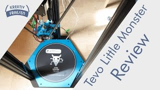 Tevo Little Monster detailed Review / Delta 3D Printer