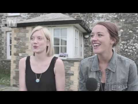 Stars Jessica Ransom and Robyn Addison say love is in the air on Doc Martin
