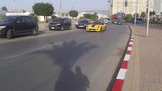 1st appearance in Morocco - Ferrari California au Maroc Tanger Voiture de luxe au Maroc