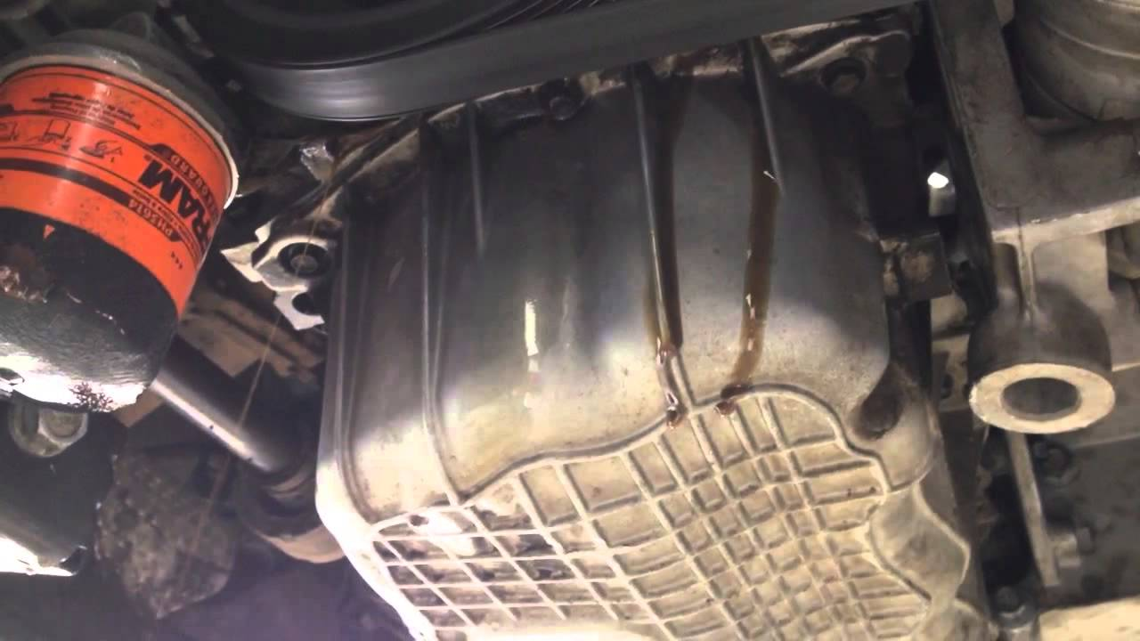 chrysler town and country 2006 oil