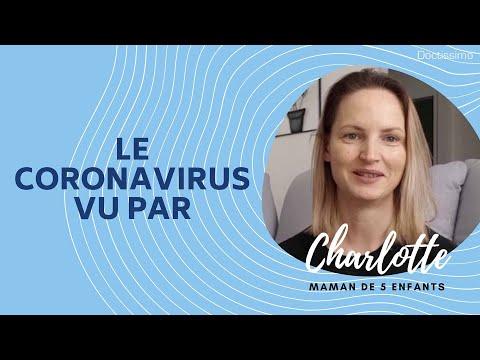 Le coronavirus vu par… Charlotte, maman de 5 enfants