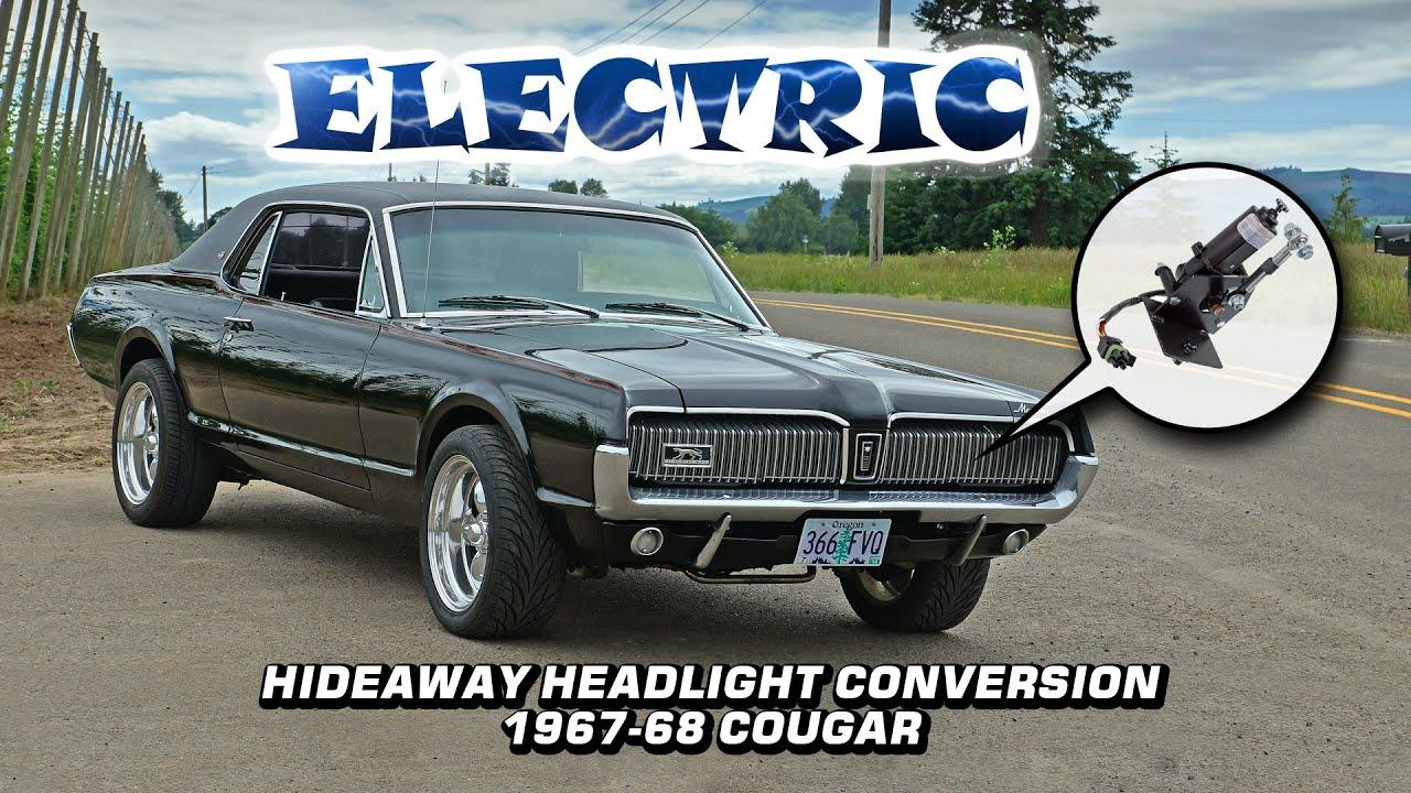 electric hideaway headlight actuator conversion 1967 1968 mercury wiring diagrams for 67 cougar xr 7 [ 1280 x 720 Pixel ]