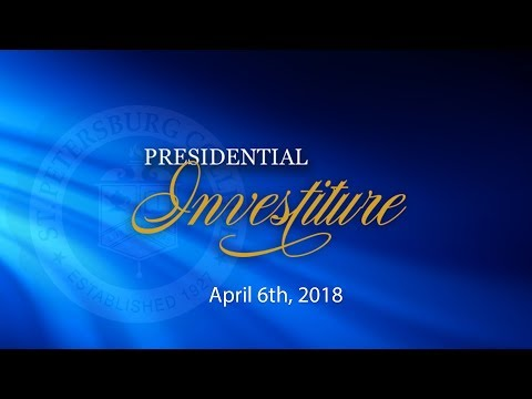 The Presidential Investiture