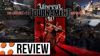 Unreal Tournament 3, The Crucible v1.2, & MapMixer 3.03 Video Review