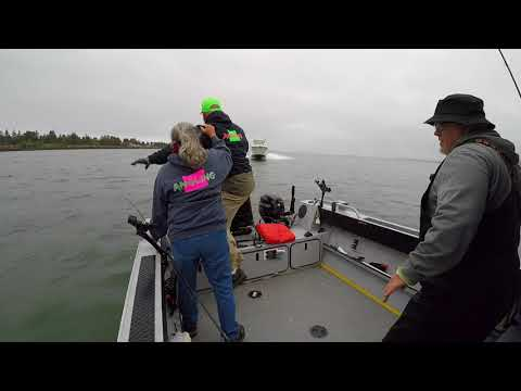 Angling Oregon Buoy 10 Boat Wreck. Never before seen footage surrounding the accident.