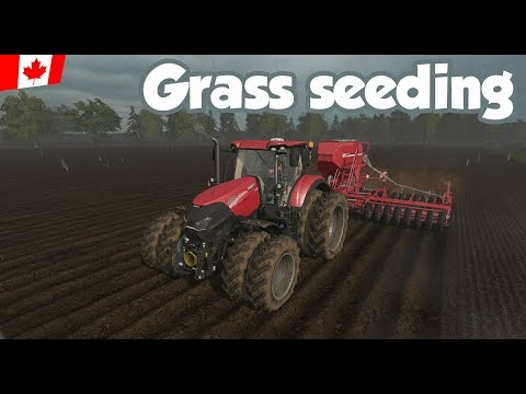 Grass seeding - Ep. 6 - Northern Alberta - FS17