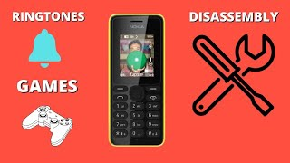 Nokia 108 Dual sim Review/Disassembly/Ringtones/Games/Camera/Battery