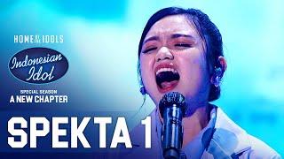 Download FITRI - TETAP DALAM JIWA (Isyana Saravati) - SPEKTA SHOW TOP 14 - Indonesian Idol 2021