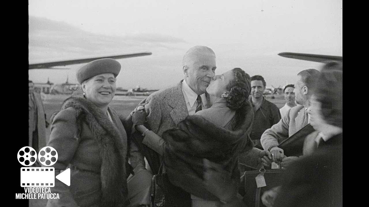 f8a68a2b63a70 Giovanni Buitoni rientra in Italia (1953) - YouTube